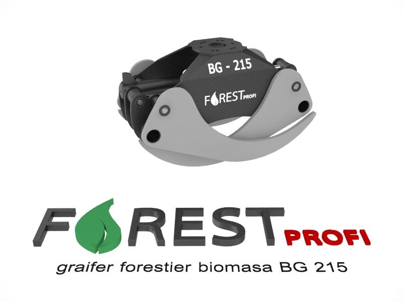 Graifer forestier biomasa BG 215
