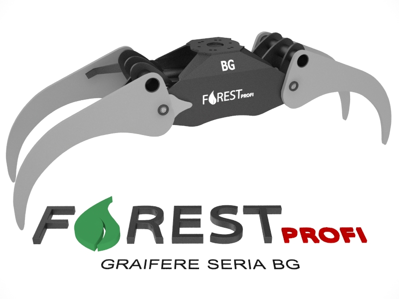 Graifer forestier BG Forest Profi