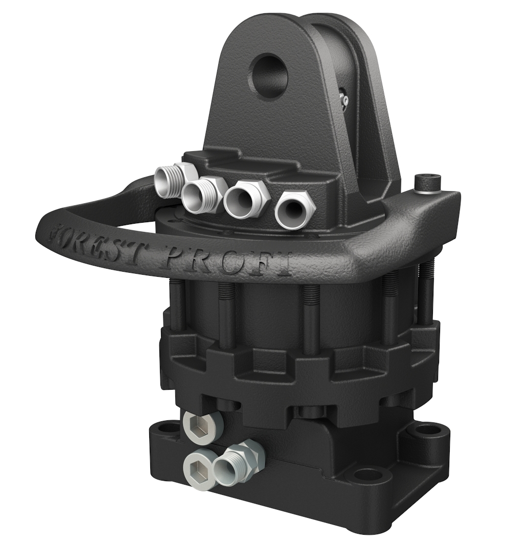 Rotator hidraulic 5 tone cu flansa