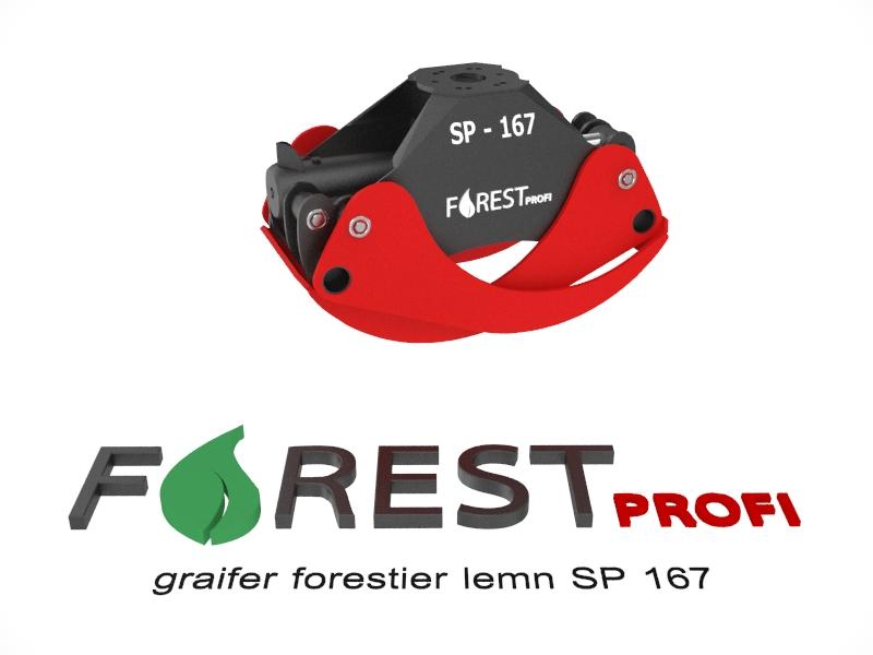 Graifer forestier SP 167