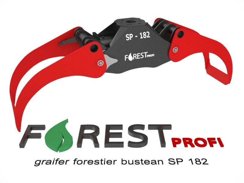 Graifer forestier SP 182